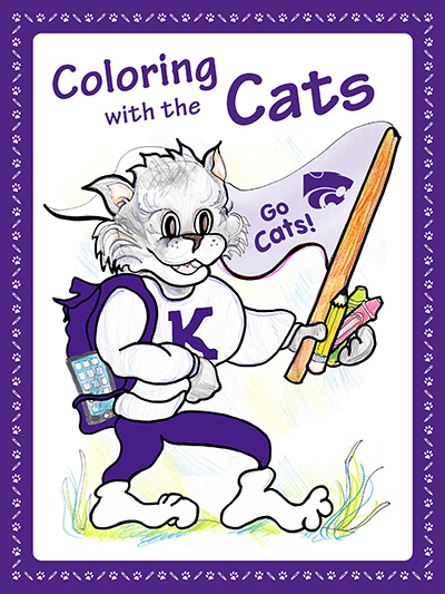 Coloring with the Cats book cover