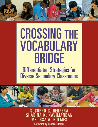 Crossing the Vocabulary Bridge: Differentiated Strategies for Diverse Secondary Classrooms book cover