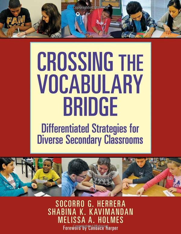 CRossing the Vocabulary Bridge book cover