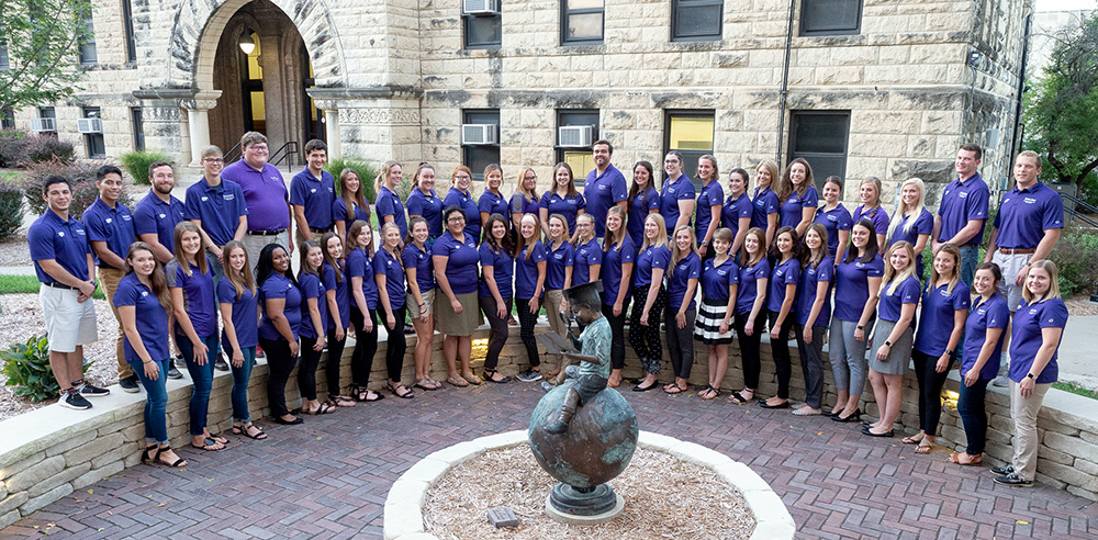2018 College of Education Ambassadors group photo